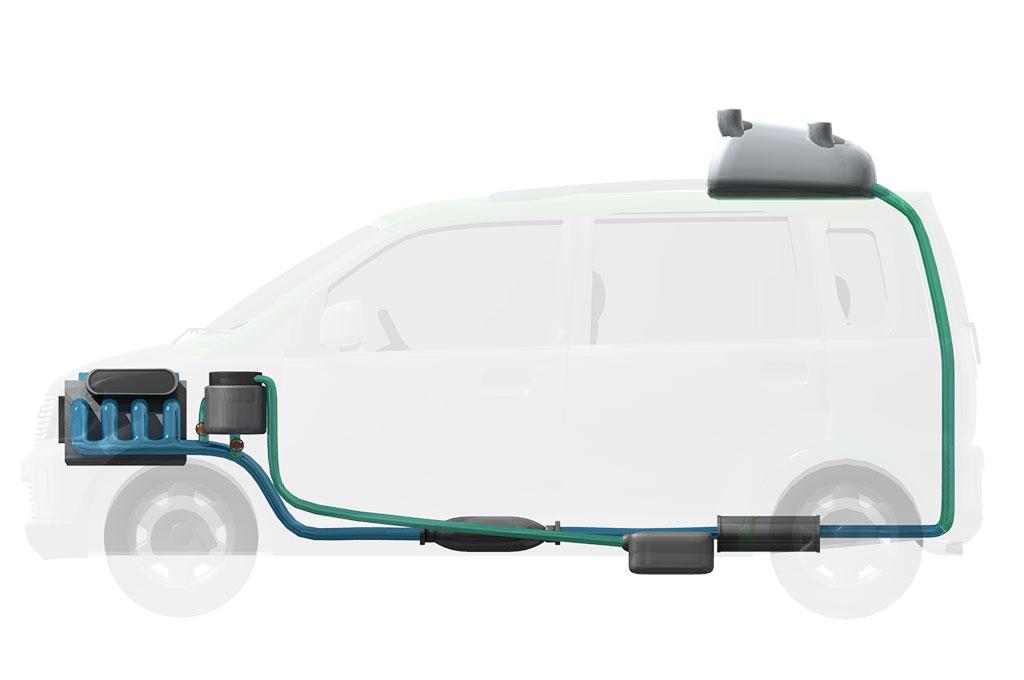 Mobil Konsep ini, Berbahan Bakar Sampah Plastik