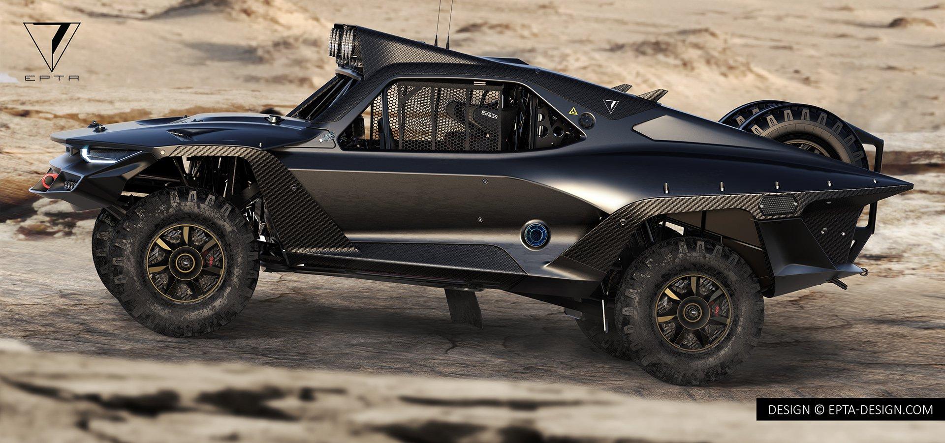 Desert Storm Trophy Truck ala EPTA Design