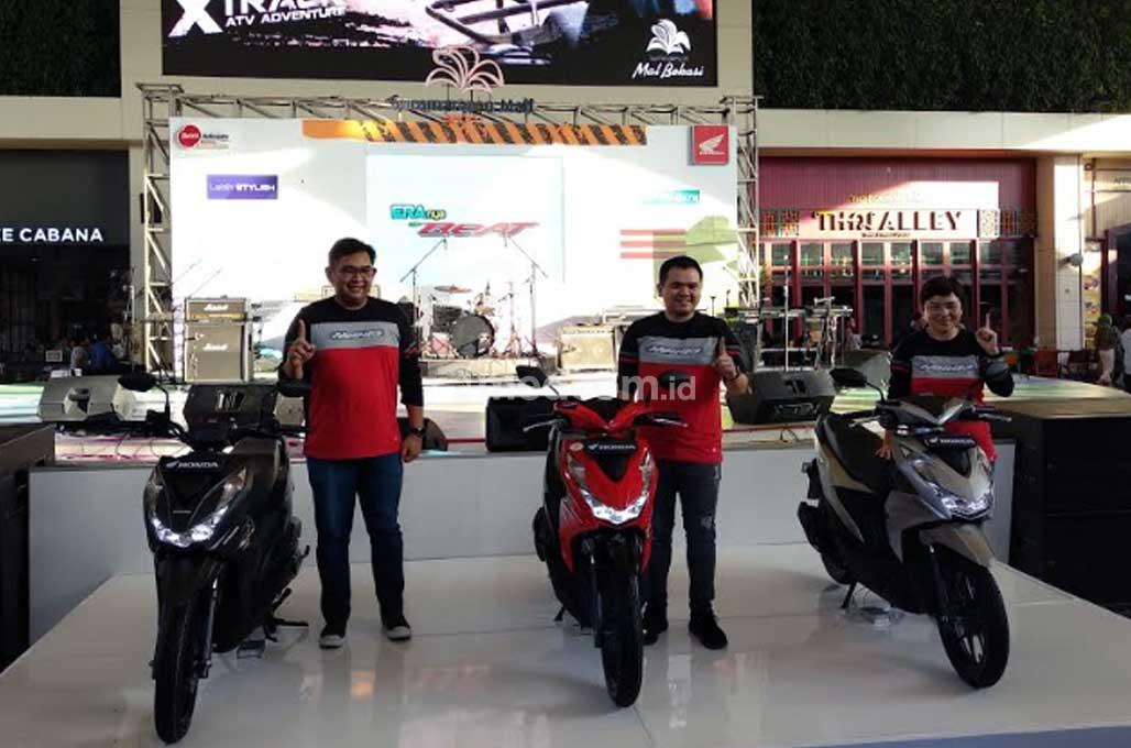 All New Honda BeAT Series Mengaspal di Bekasi