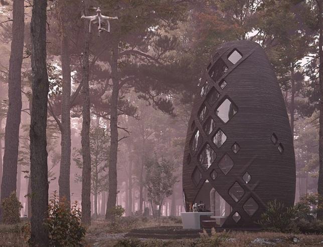 TERA, Rumah di Mars yang Dibangun di Bumi