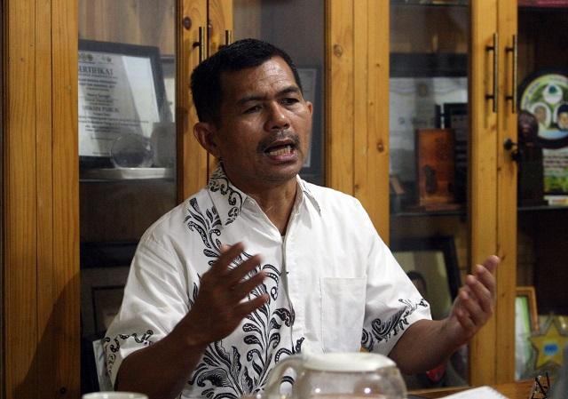 Keringat Jokowi di Kebun Sawit