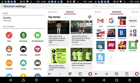 Bagus Mana, UC Browser, Opera, atau Google Chrome?
