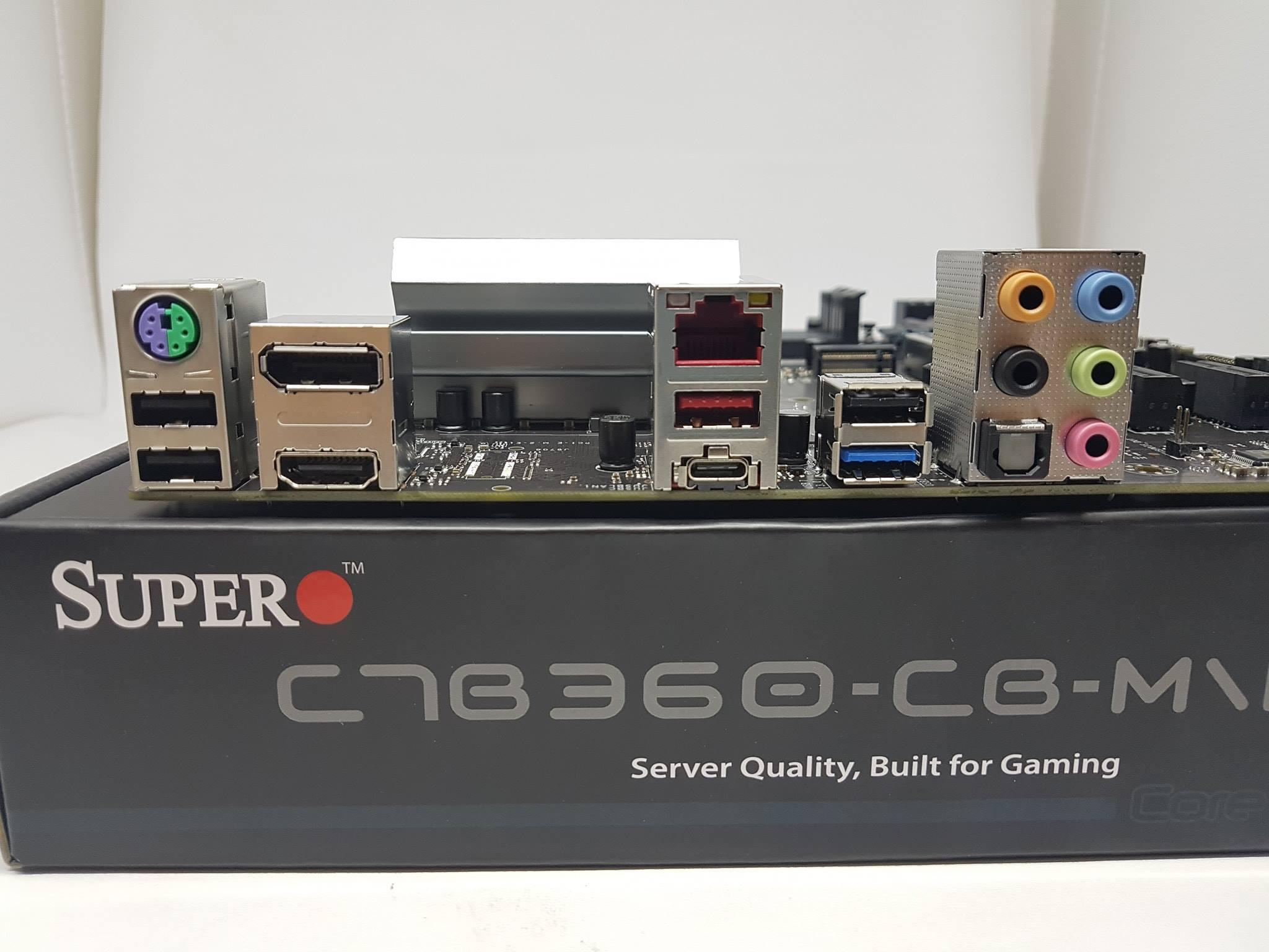 Bagaimana Performanya Berlaih ke pengujian performanya Med memadukan motherboard Supero C7B360 CB M W dengan prosesor Intel Core i3 8350K serta