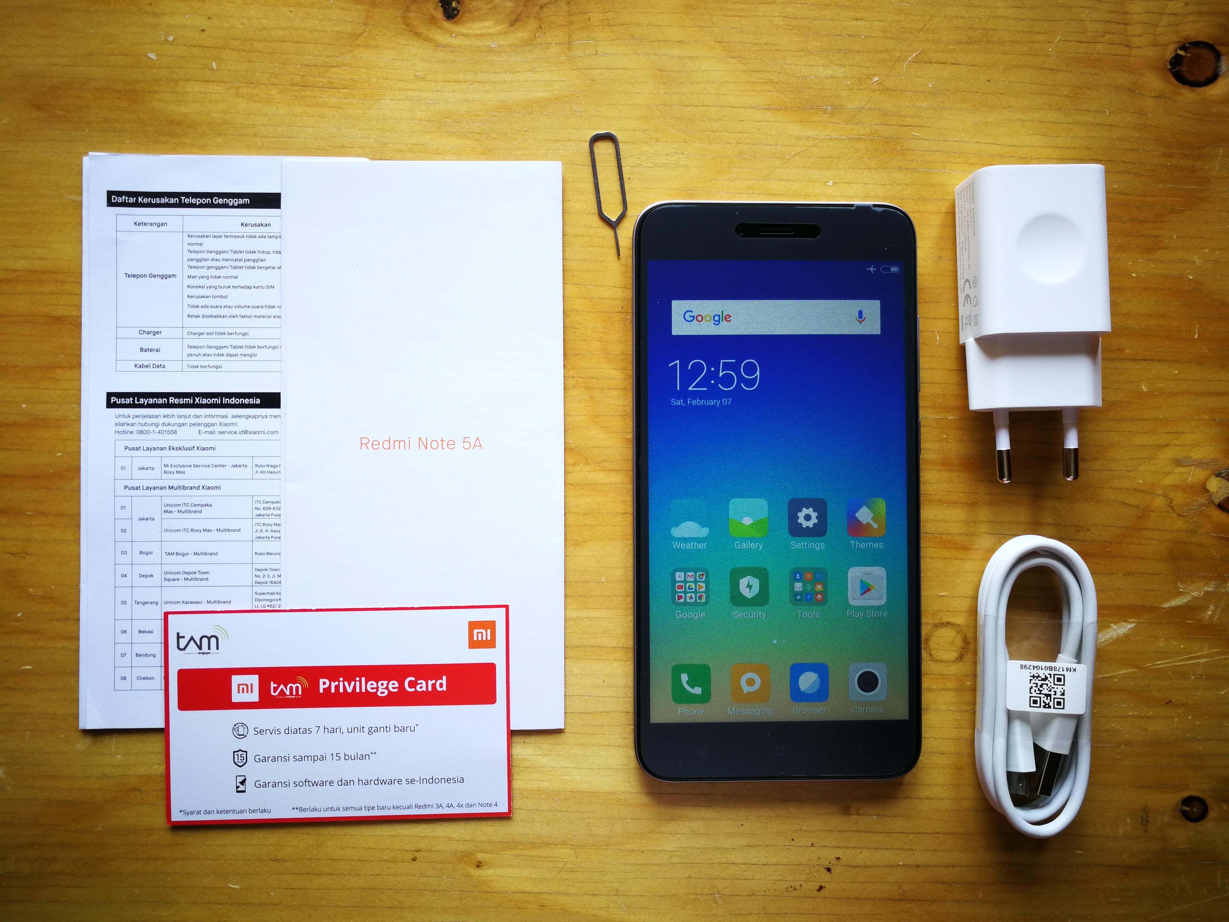 Mengintip Isi Kotak Xiaomi Redmi Note 5a 4g Dual Sim Putih Pertama Adalah Terdapat Kartu Penjelasan Perangkat Informasi Garansi Serta Tanda Berisi Nomor Dari Anda