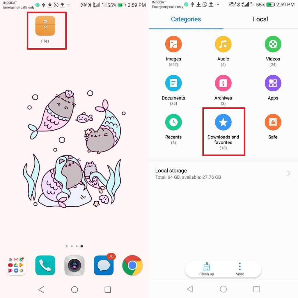 Cara Melacak File Unduhan di Android