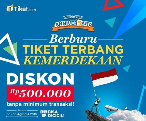 Beragam Promosi Sambut Hari Kemerdekaan Indonesia
