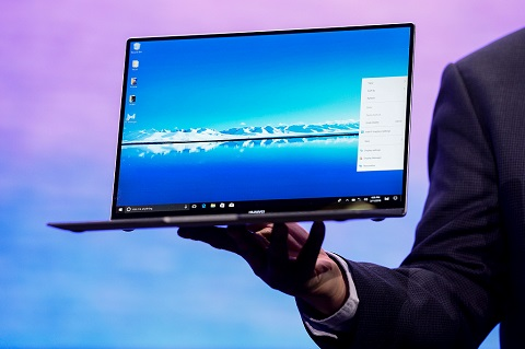 MateBook X Pro, Cara Huawei Saingi MacBook Pro