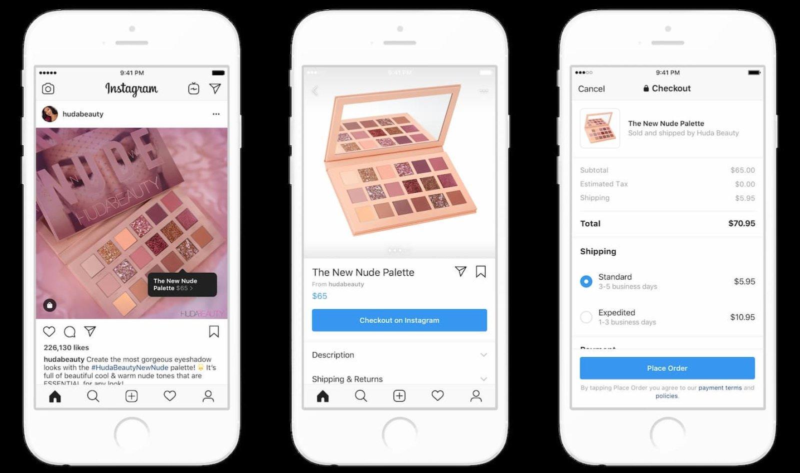 Instagram Mulai Pasang Akses Belanja Cepat