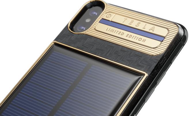 iPhone X Tesla, Ponsel dengan Panel Surya Berharga Rp63 Juta