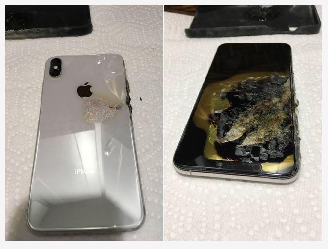 Baru Tiga Minggu, iPhone XS Max Terbakar