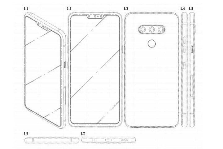 LG Buat Ponsel dengan Tiga Kamera Depan?