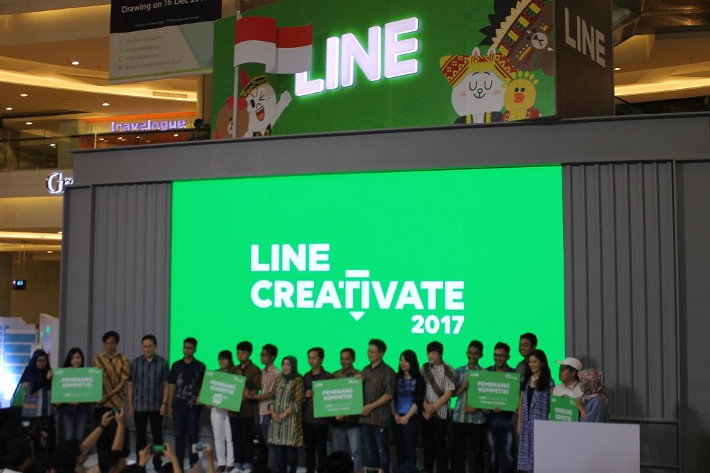 Ada 17 Ribu Karya di LINE Creativate 2017