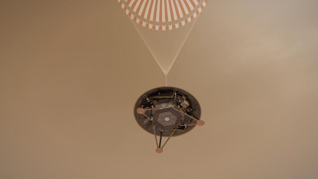 NASA Sukses Daratkan InSight di Mars