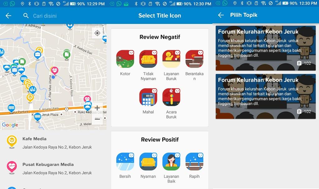 Qlue, Aplikasi Smart City yang Tampil Lucu