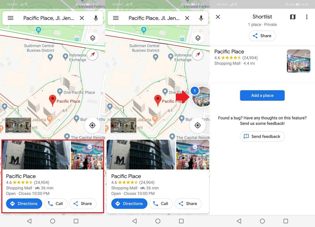 Cara Simpan Tempat Favorit di Google Maps