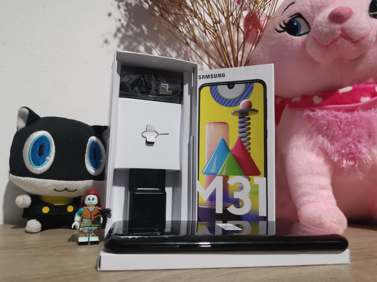 Unboxing Ponsel Baterai 6.000 mAh Samsung Galaxy M31