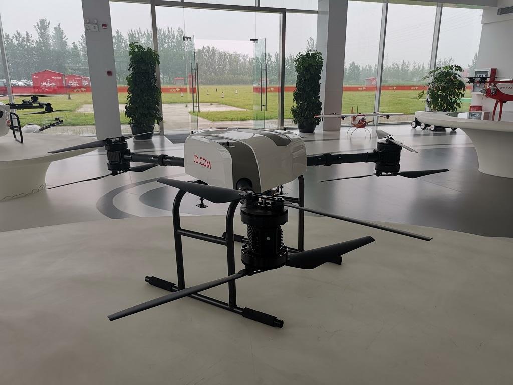 Melihat Model Pengiriman Pakai Drone JD
