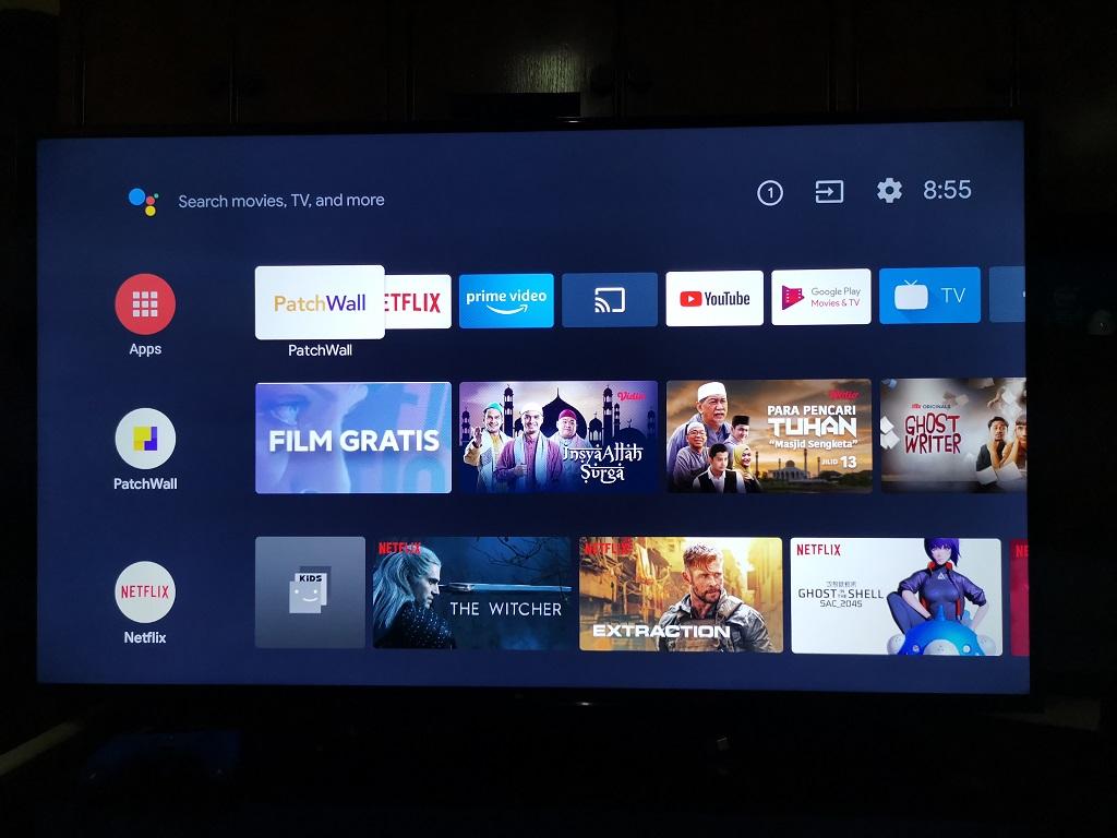 Rasanya Menonton Film 4K dan Main Game PS4 Pro di Mi TV 4 55