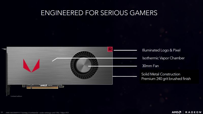 Inilah Radeon RX Vega, Pesaing Utama GTX 1080