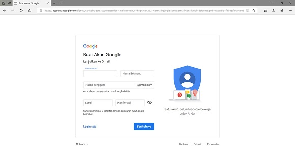 Cara Cepat Bikin Akun Gmail Baru