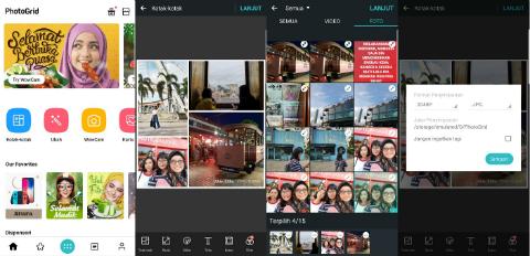 Tiga Aplikasi Kolase Foto untuk Ramadan dan Libur Lebaran