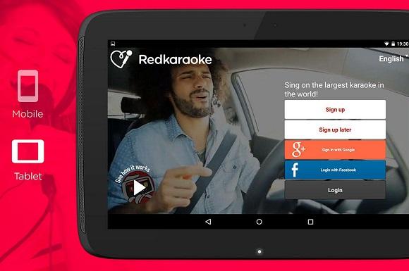 Aplikasi Karaoke di Android dan iOS