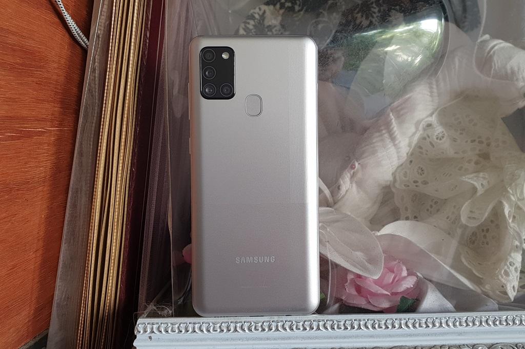 Samsung Galaxy A21s RAM 6GB, Sama Kencang