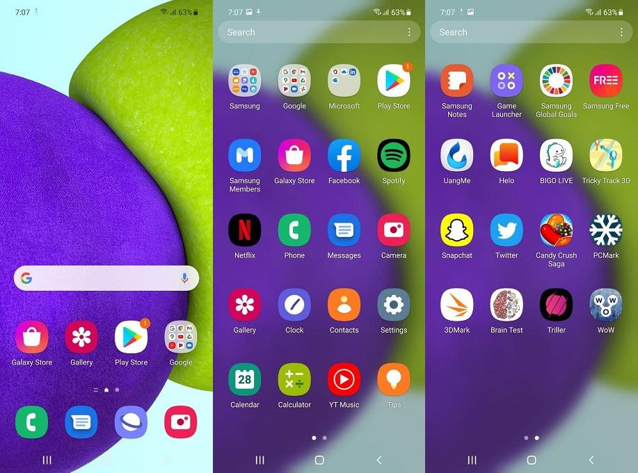 Samsung Galaxy A52, Pendukung Kreativitas