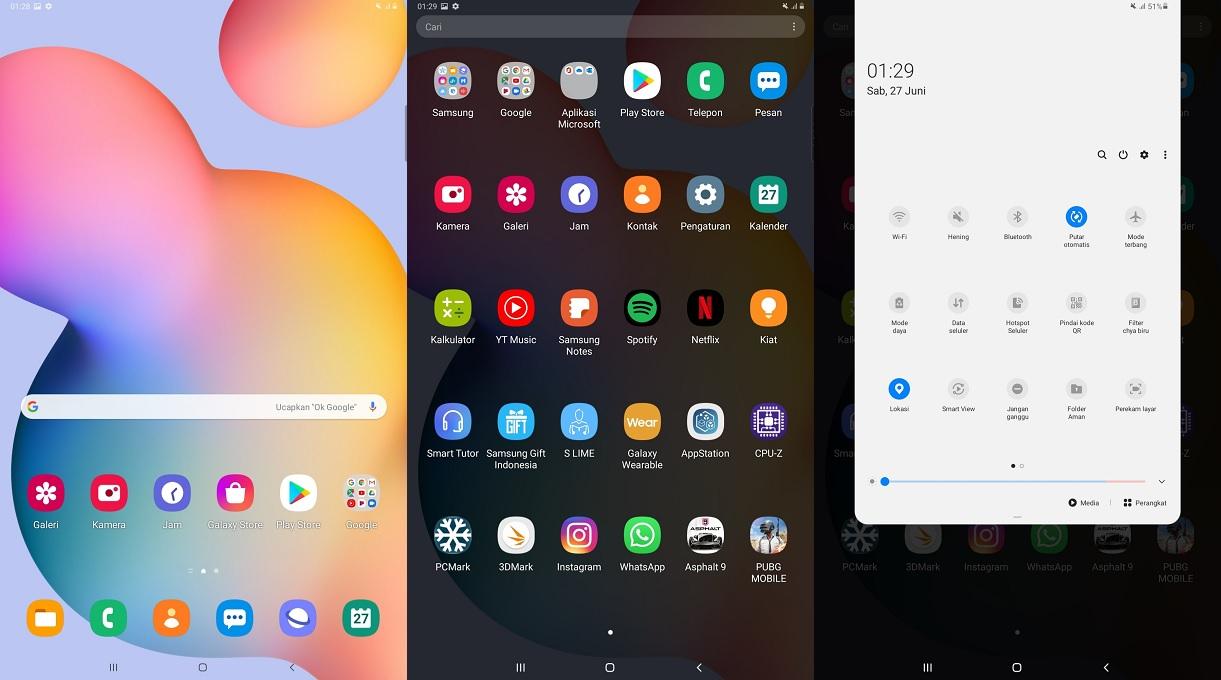 Pengalaman Menjajal Samsung Galaxy Tab S6 Lite
