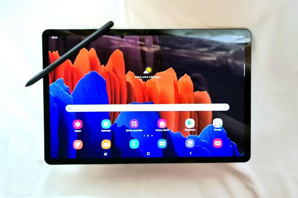 Samsung Galaxy Tab S7+, Besar Bermanfaat