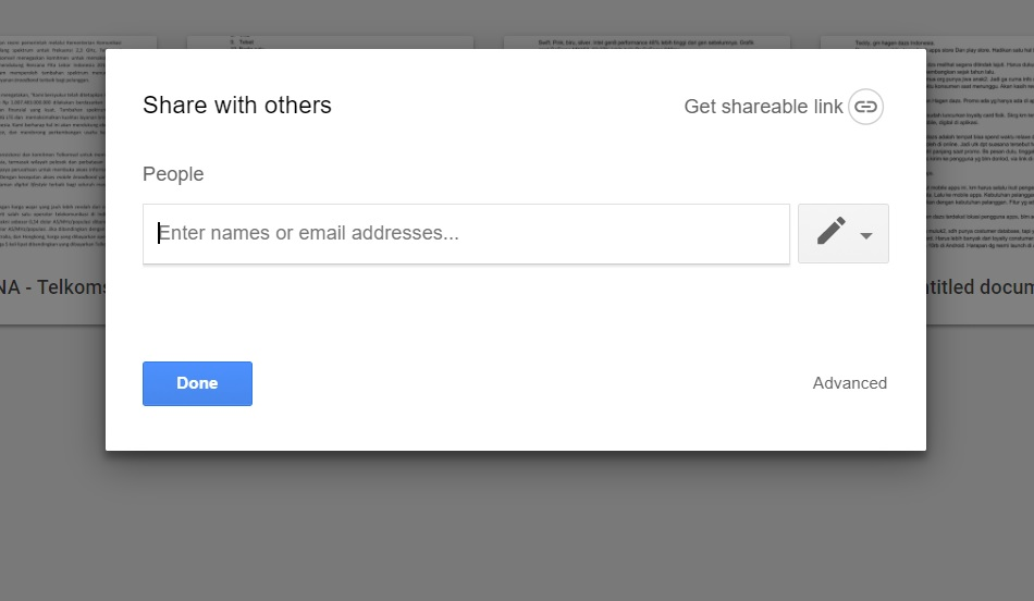 Cara Mudah Berbagi Dokumen di Google Drive