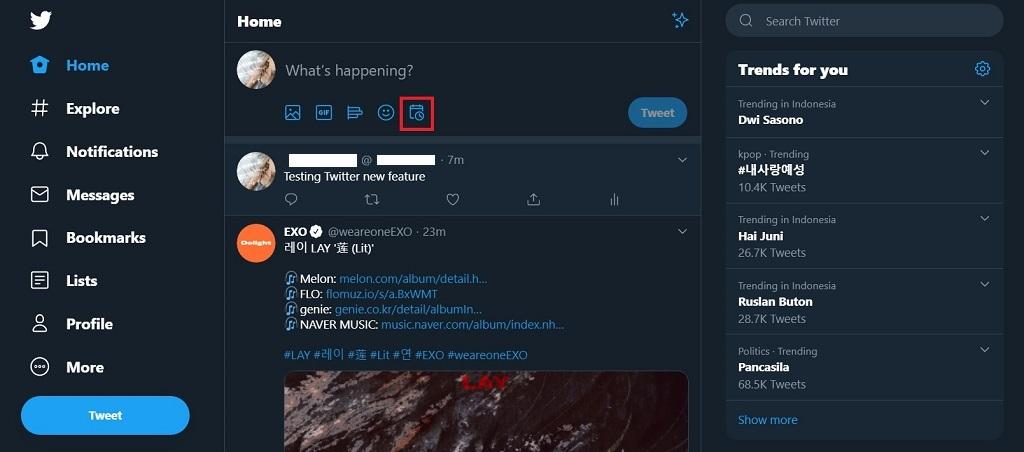 Ini Cara Jadwalkan Kicauan di Situs Twitter