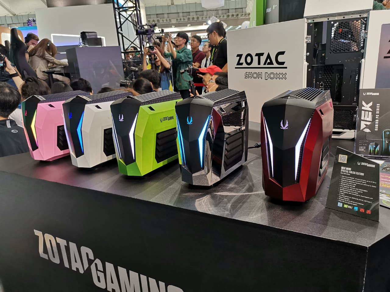 PC Gaming Zotac MEK Mini Pasang Intel Gen-9
