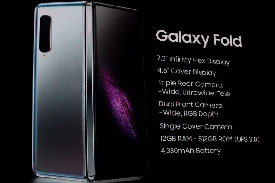 Samsung Galaxy Fold Resmi Diumumkan, Berapa Harganya?