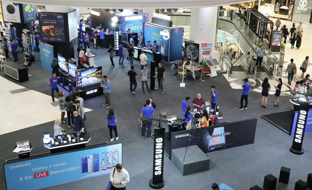 Gaet Erajaya, Samsung Adakan Galaxy Land