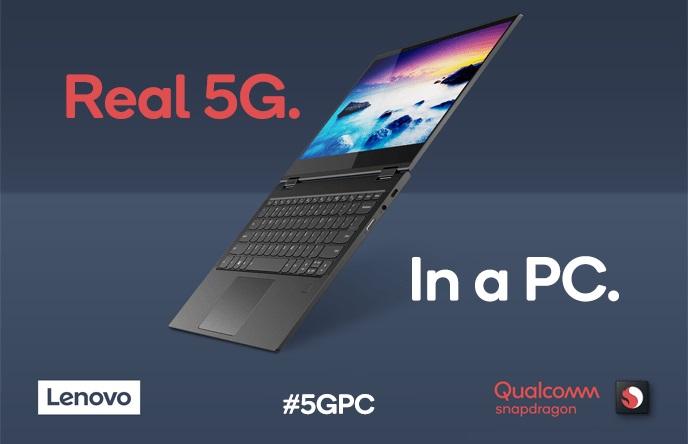 Gaet Lenovo, Qualcomm Pamer Laptop Snapdragon 5G Pertama