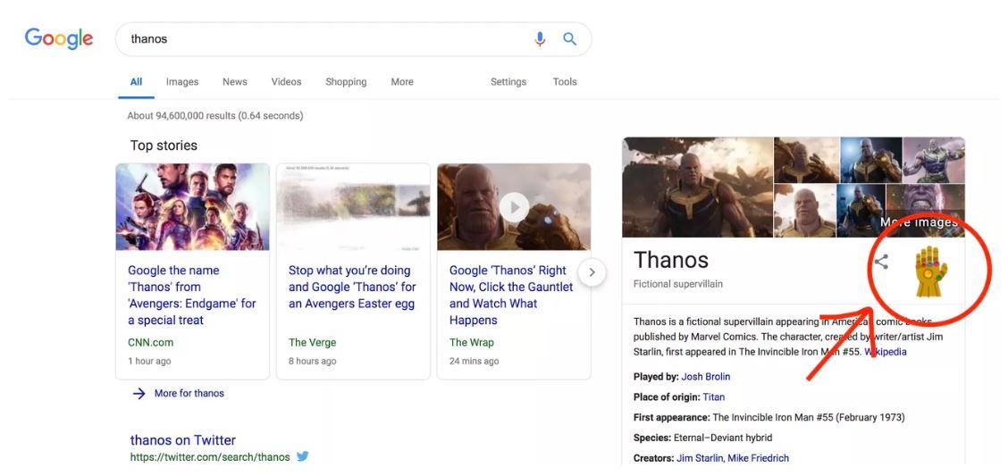 Thanos Kuasai Google Search, Ini Penampakannya