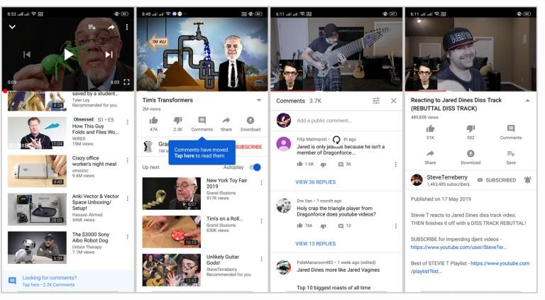 YouTube Hendak Pindahkan Kolom Komentar