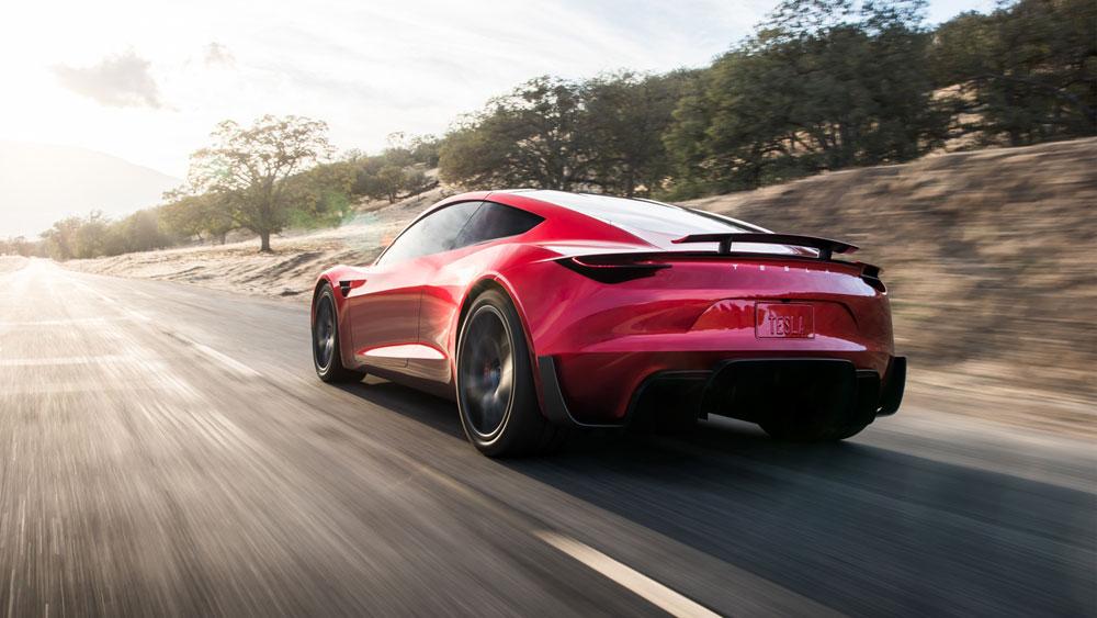 Dahsyatnya Akselerasi Tesla Roadster