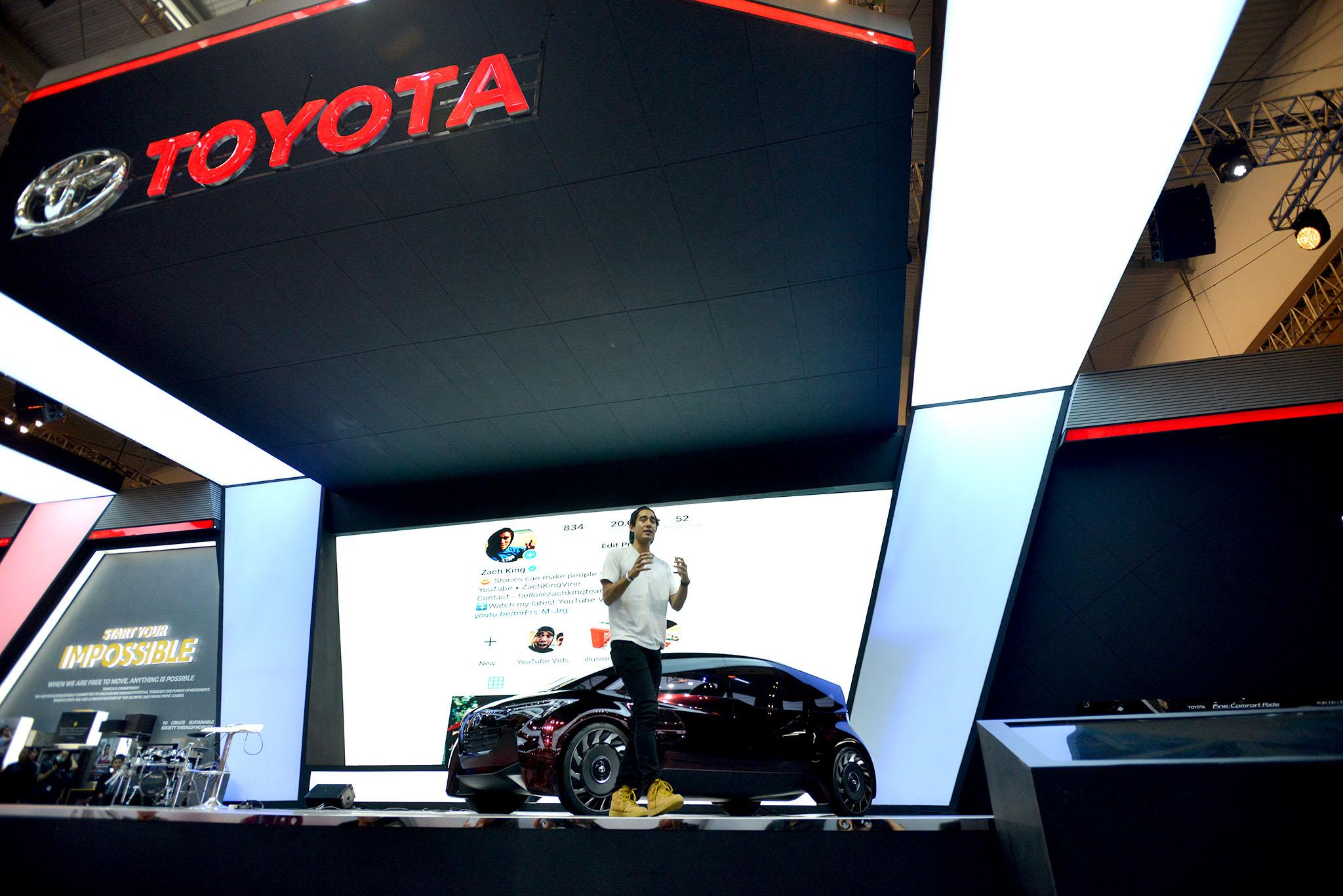 Kenangan Raja Sulap Youtube dengan Toyota Prius