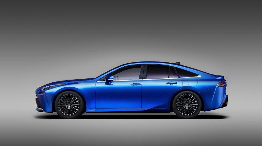 Generasi Baru Toyota Mirai Usung Teknologi Unggul Hidrogen