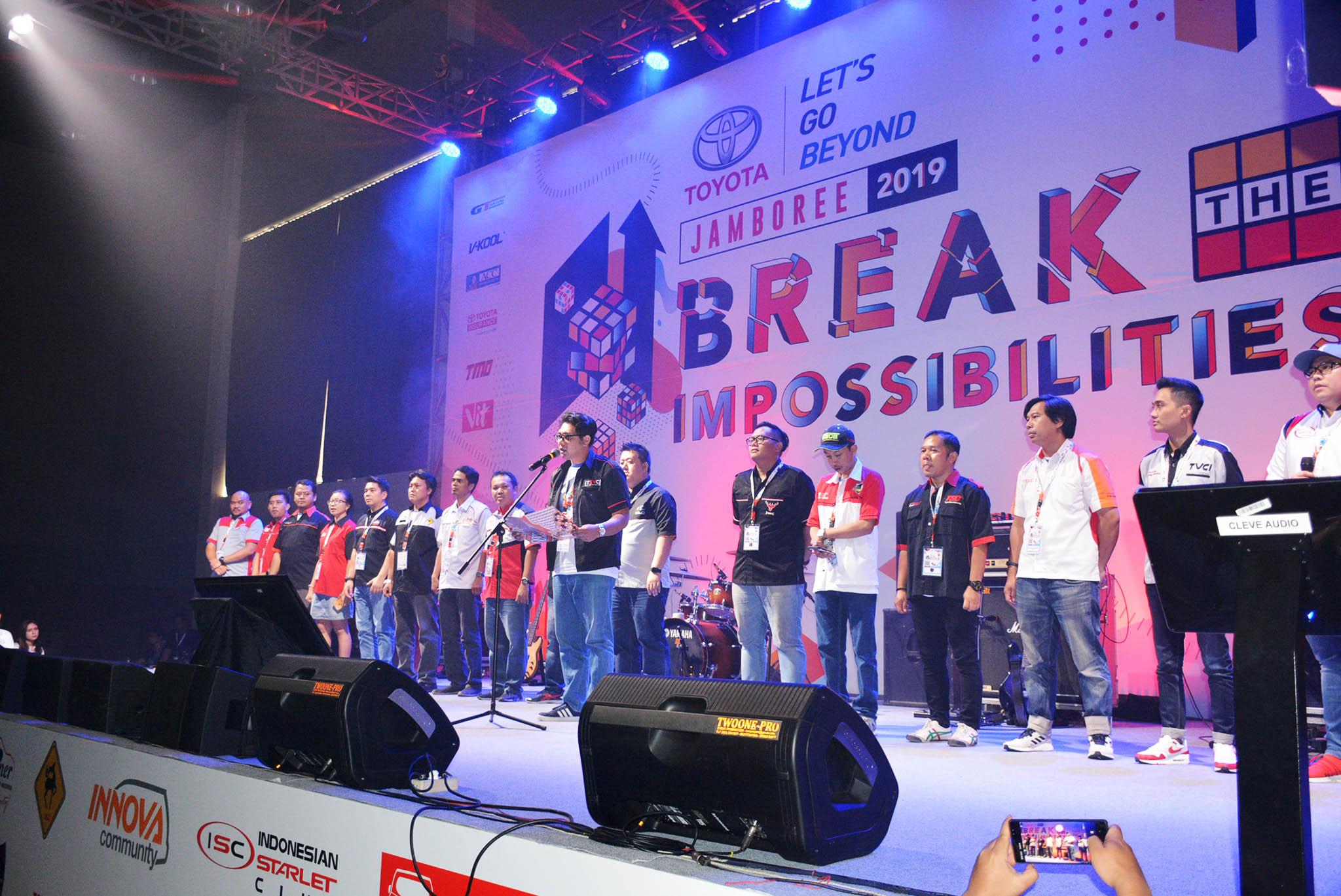 Jambore ke-12 Komunitas Toyota Se-Indonesia Padat Edukasi