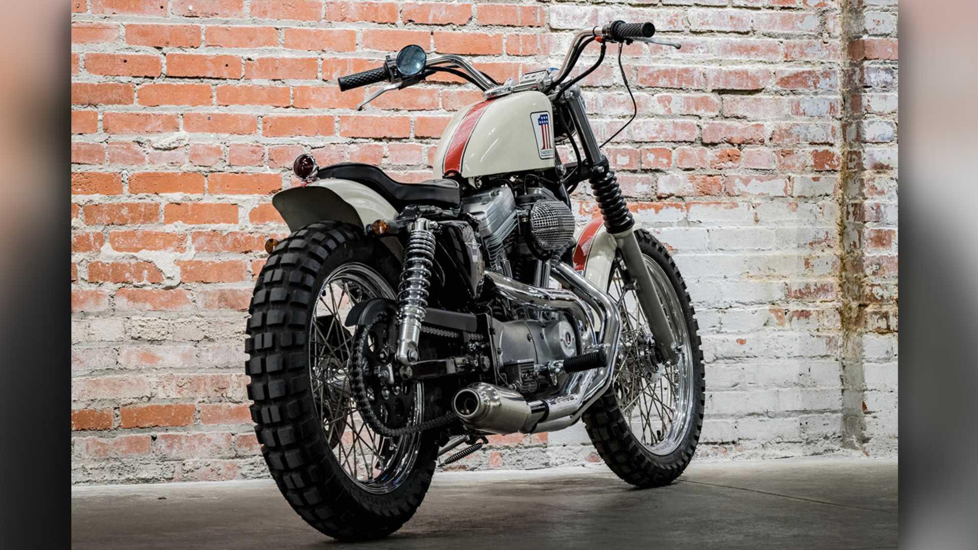Harley-Davidson Sportster, Jajal Aliran Street Tracker