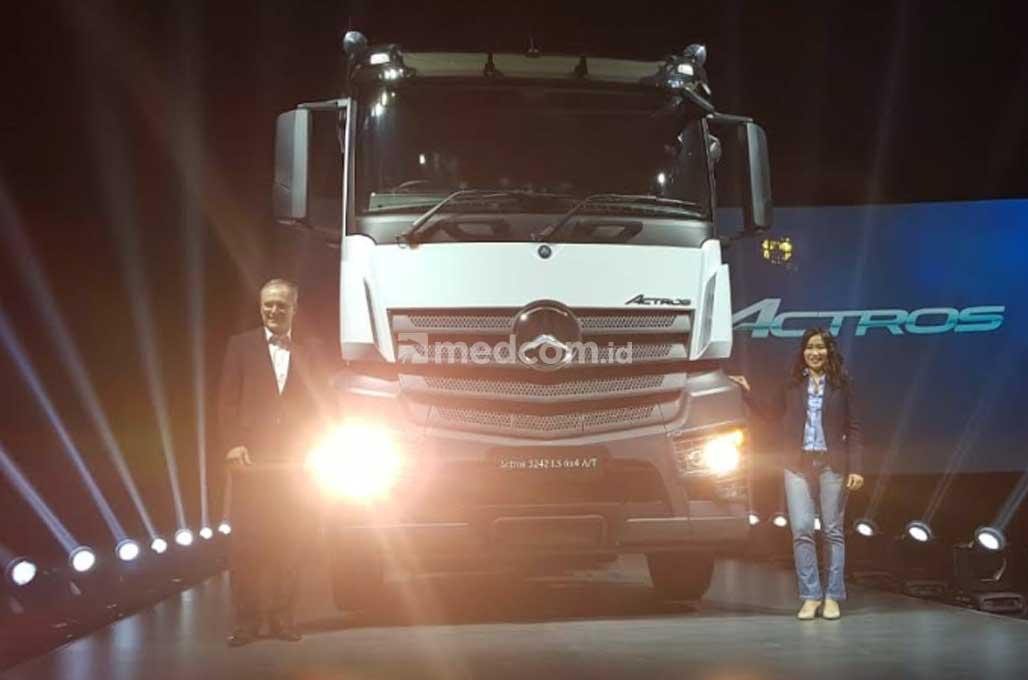 Actro dan Arocs, 'Senjata' Baru Mercedes-Benz di Sektor Konstruksi dan Tambang