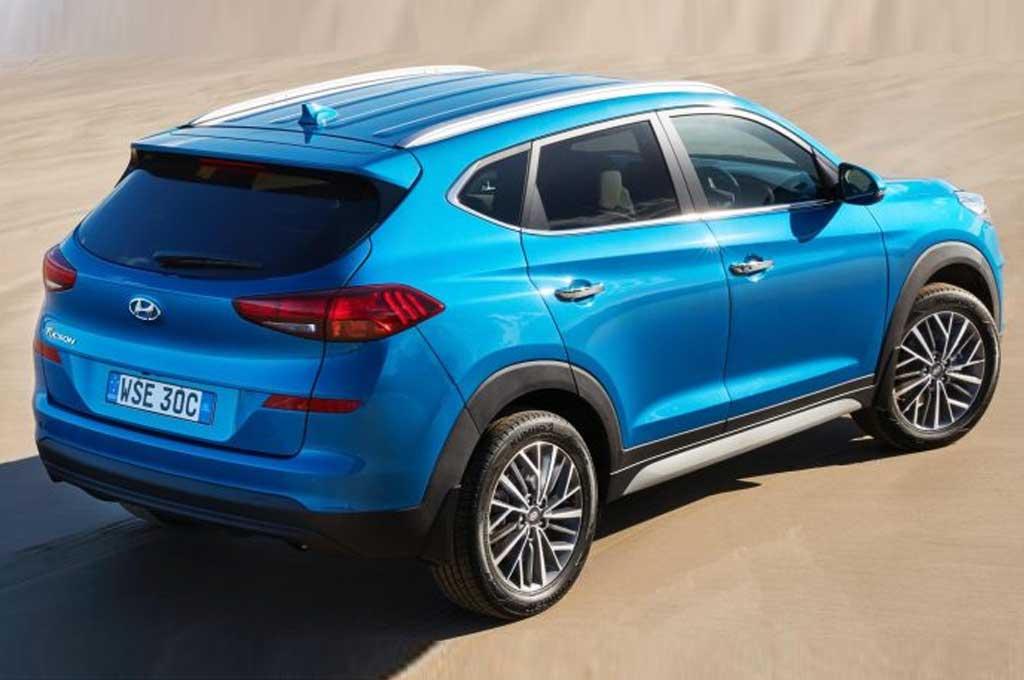 Hyundai Tucson 2021 Tampil Lebih Modis