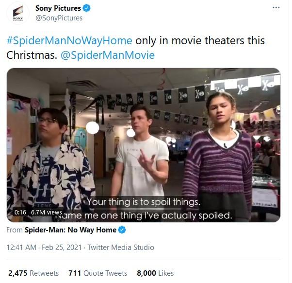 <i>Kocak</i>, Ini Judul Film Spider-Man 3 Versi Netizen
