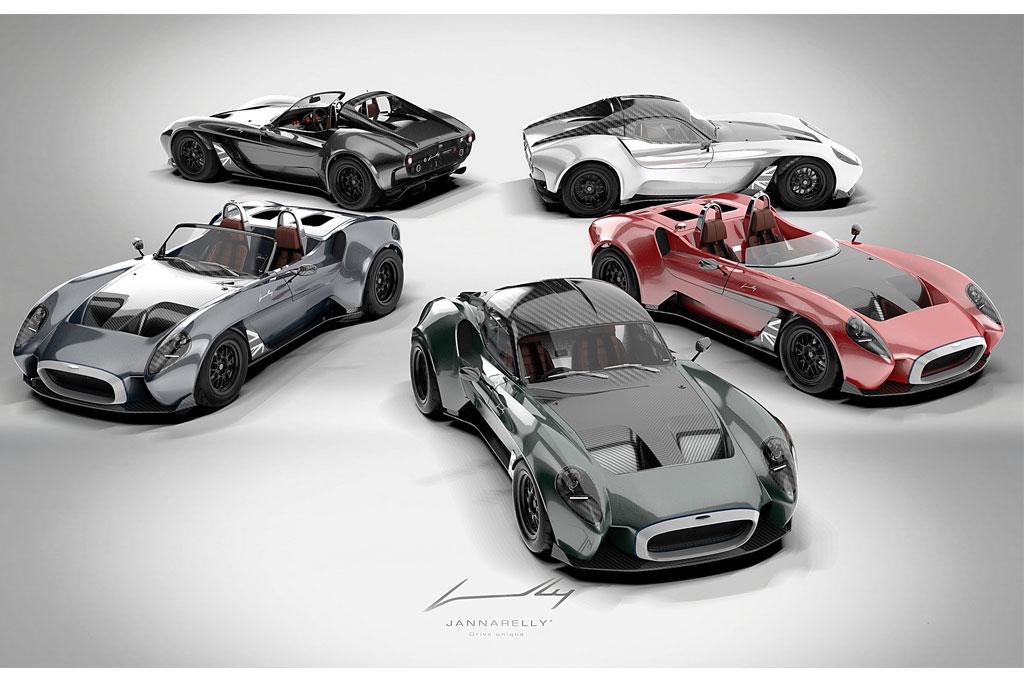 Mobil Sport Asal Dubai Jannarelly Design-1 UK Edition Usung Gaya Klasik