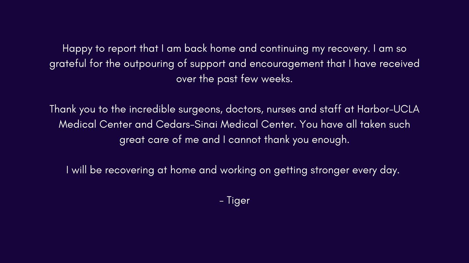 Kondisi Terbaru Tiger Woods Usai Kecelakaan Hebat