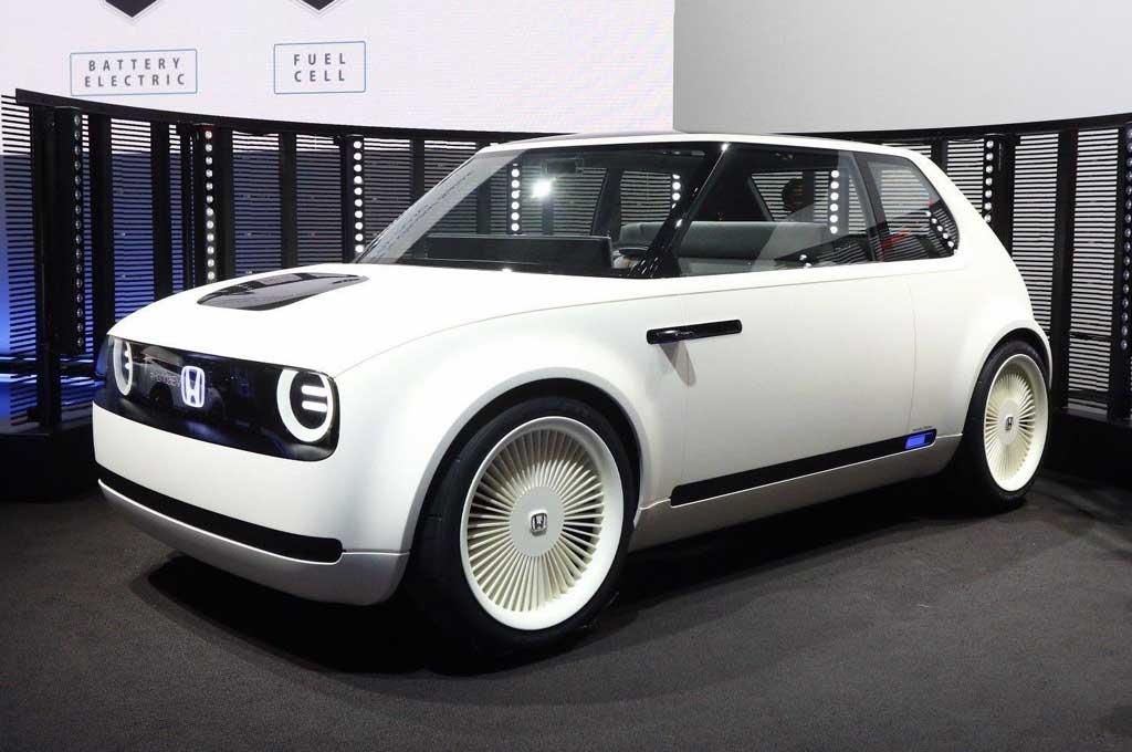 Intip Dasbor Honda Urban EV Versi Produksi