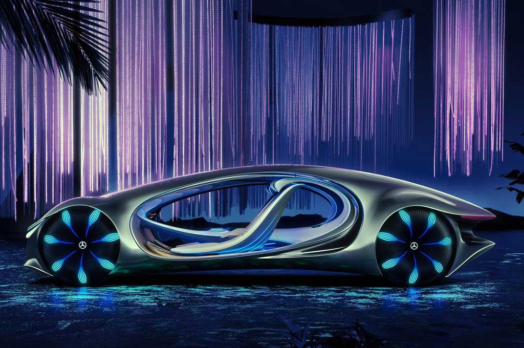 Mercedes-Benz Vision VTR Concept Pakai Komponen asal Indonesia